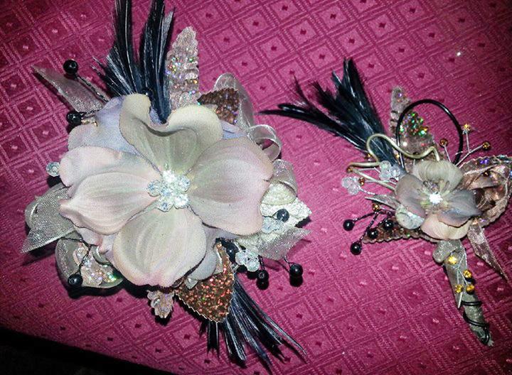 Corsage & boutonniere by Cottage Florist, Riverview FL