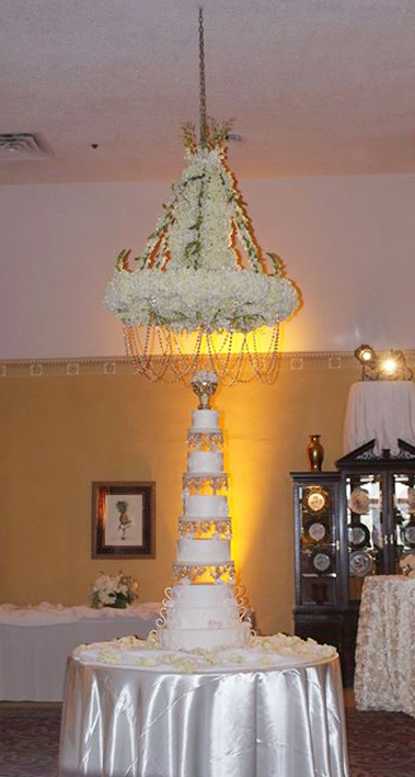 Floral Chandelier by Expressions Flowers