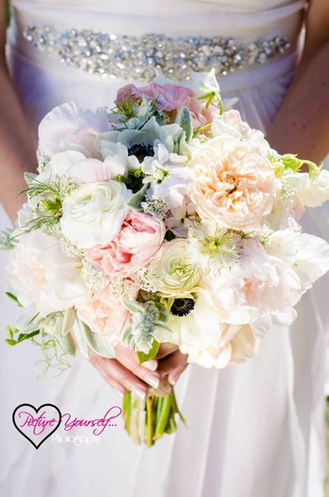 Florist's wedding bouquet by Floral Design, Post Falls ID