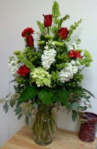 Beautiful arrangement by Carthage Flower Shop, Carthage TX