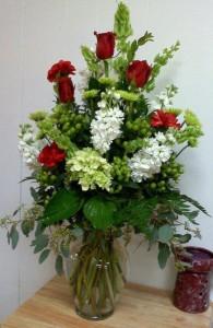 Beautiful arrangement by Carthage Flower Shop, Carthage TX