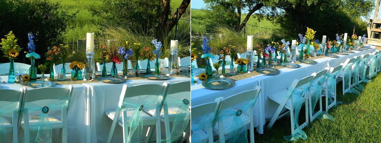 Coastal Wedding Flowers by Mystical Gardens in Brunswick GA