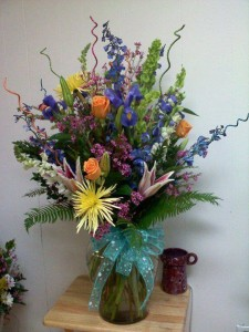 Summer flowers by Carthage Flower Shop, Carthage TX