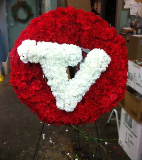 Tejas Vaqueros memorial by Brenham Floral, Brenham TX