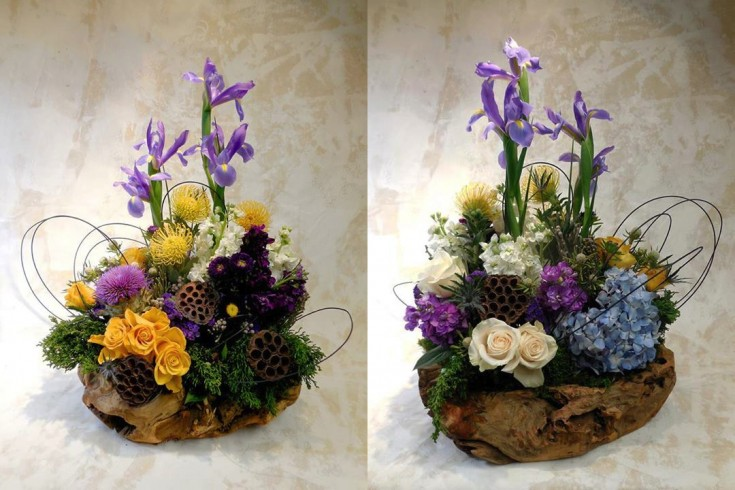 Artistic flowers by Tiger Lily Flowers, Teaneck NJ