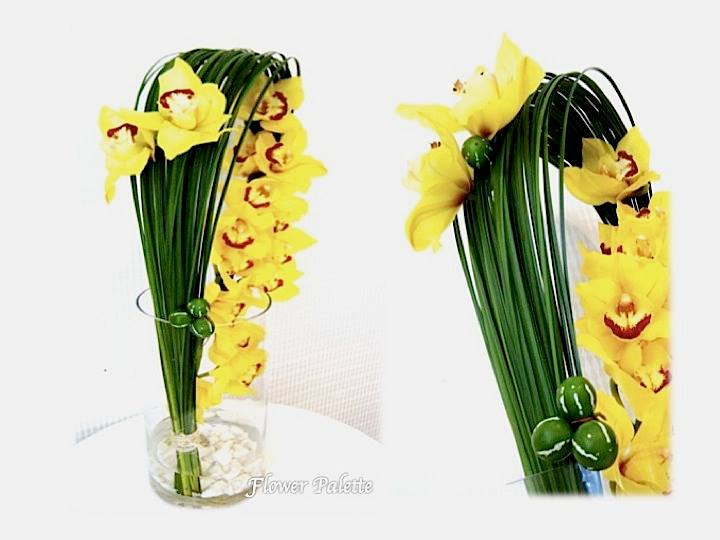 Unique orchid design by Flower Palette, Abu Dhabi UAE