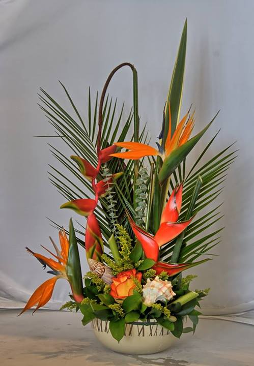 Tropical design by Sarasota Enchanted Flowers, Sarasota FL