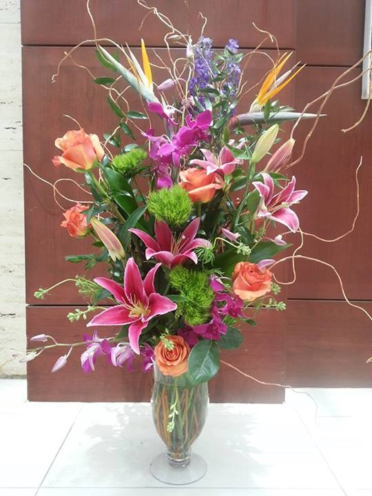 Wow  factor flowers by Flowers Plus, Charlotte NC