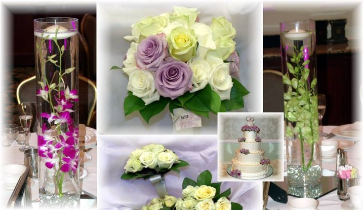 A beautiful collage from MaryJane's Flowers and Gifts in Berlin, NJ