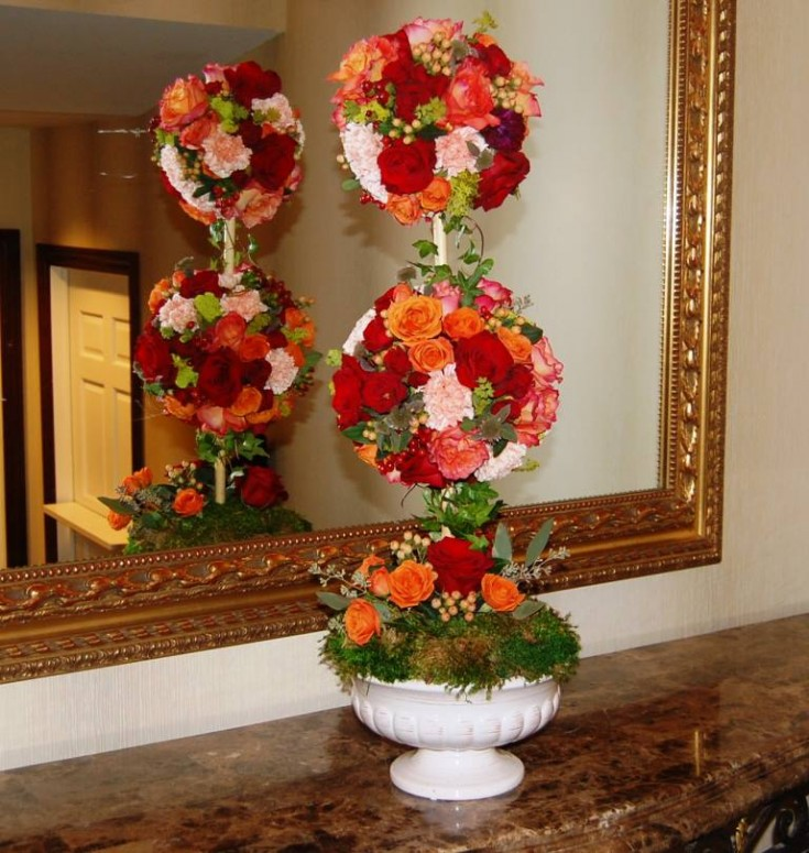 A stunning arrangement from Monday Morning Flower and Balloon Co. in Princeton, NJ