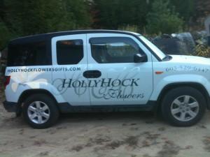 HollyHock Stickers