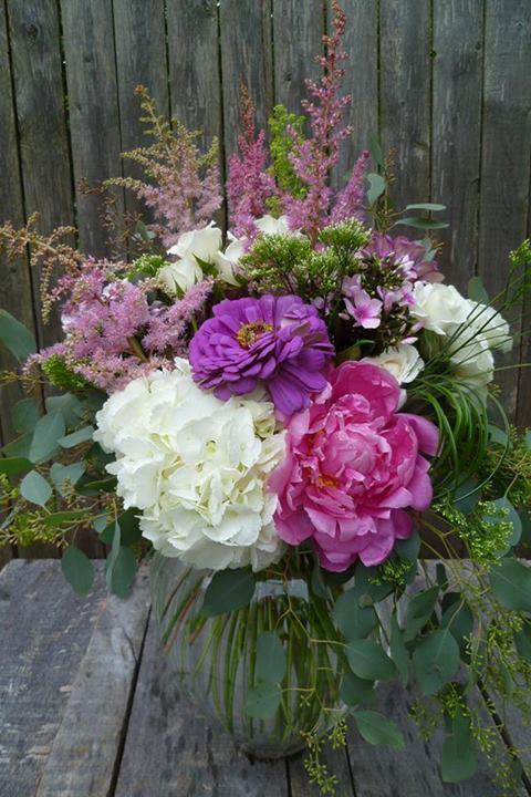 Sympathy Arrangement by Paisley Floral Design Studio