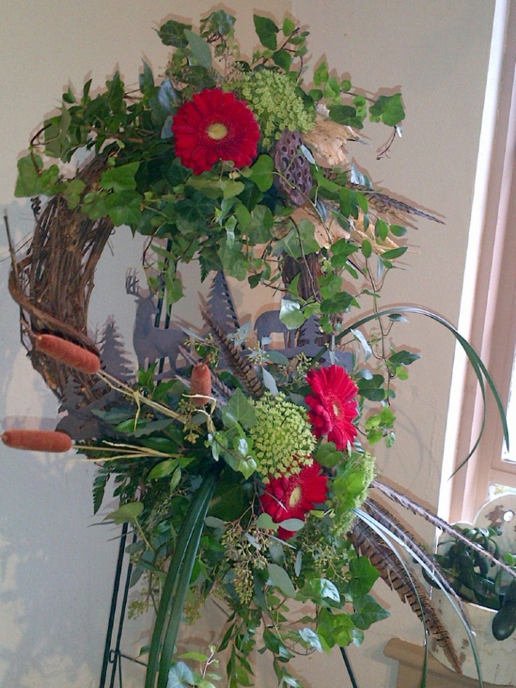 Tribute for a Deer Hunter by Four Winds Florist in Tryon, NC