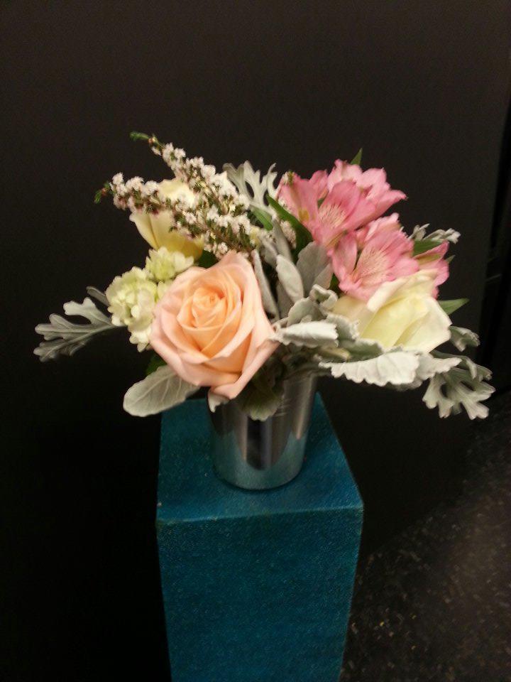 Wedding Arrangement by Design House Floral in Clarkesville, GA
