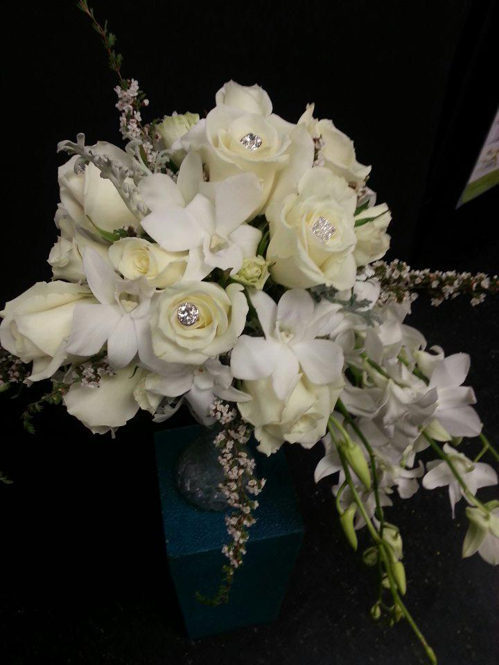 Wedding Bouquet from Design House Floral in Clarkesville, GA