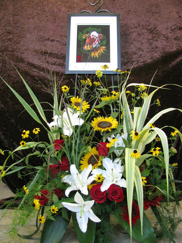 Farmer Funeral by ABloom LTD,  Walkersville, MD