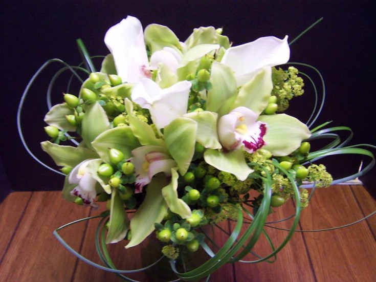 A breathtaking bouquet by Com-Patt-ibles Floral Elegance in Wooster, OH