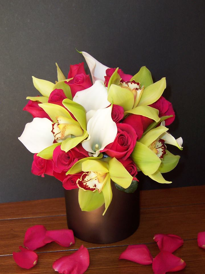 A gorgeous arrangement by Com-Patt-ibles Floral Elegance in Wooster, OH