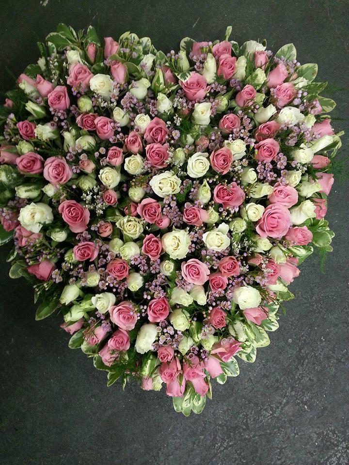 A heart-felt arrangement by Hobby Hill Florist in Sebring, FL