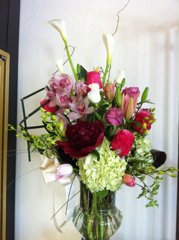 A lovely arrangement by Flowers & More in Fresno, CA