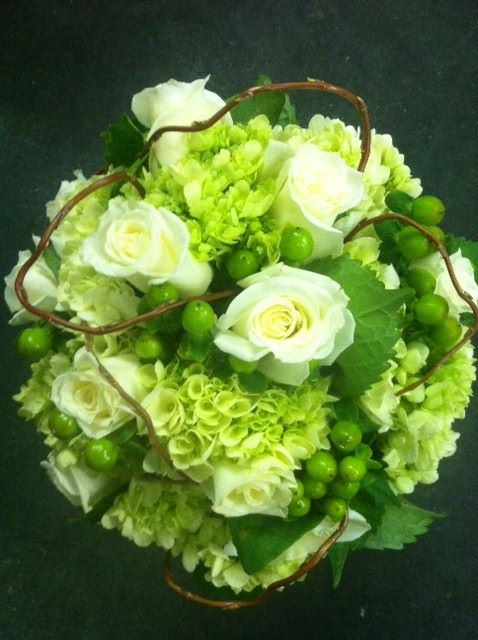 A simple bouquet by Hobby Hill Florist in Sebring, FL