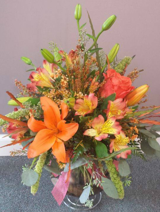 Beautiful arrangement from Flowers ABK in North Windham, CT