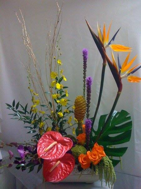 Colorful arrangement from Expressions Flowers, LLC in Fort Smith, AR