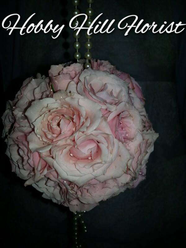 Flower girl nosegay from Hobby Hill Florist in Sebring, FL