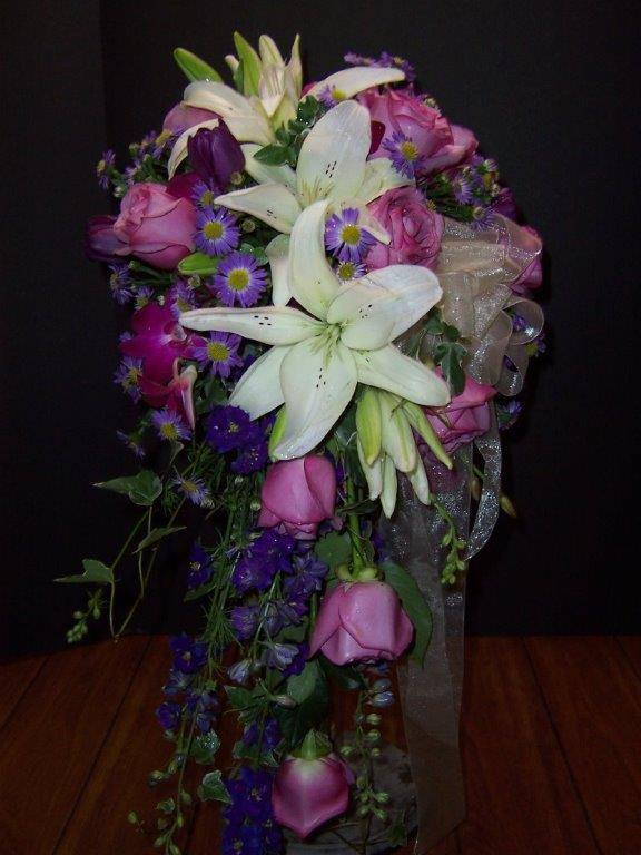 Gorgeous cascade by Com-Patt-ibles Floral Elegance in Wooster, OH
