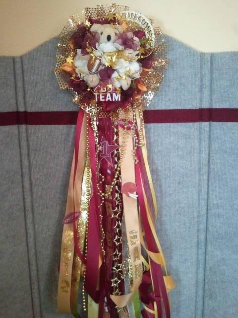 Homecoming corsage by Cottage Flowers in Pasadena, TX