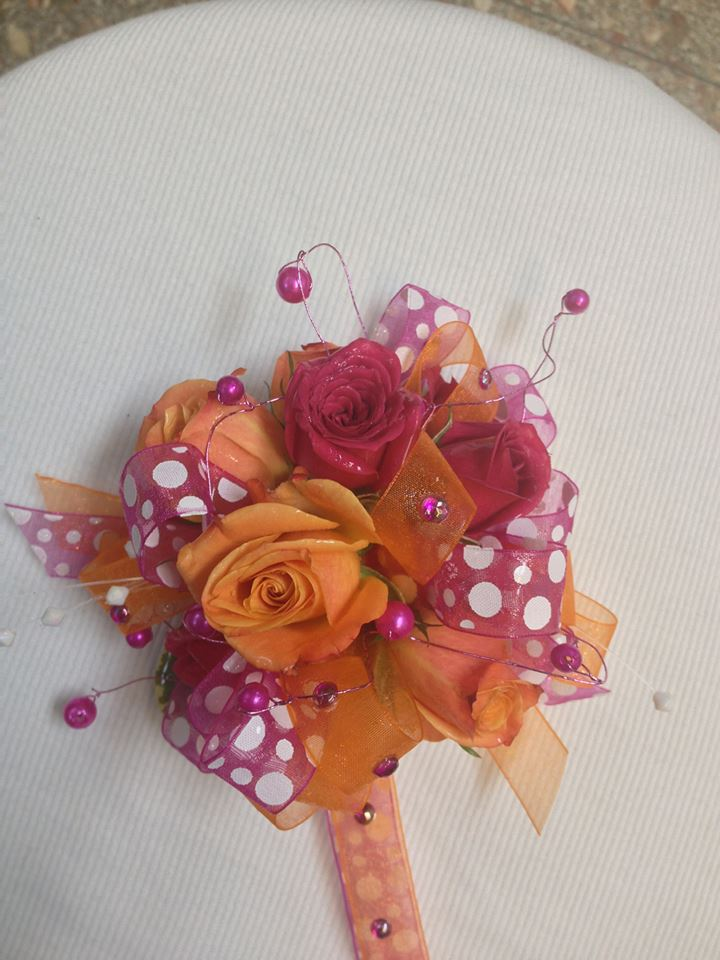 Homecoming corsage from Jocelyn's Floral INC in Cedar City, UT