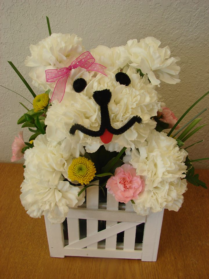 Puppy Flowers - New Beginning Florist