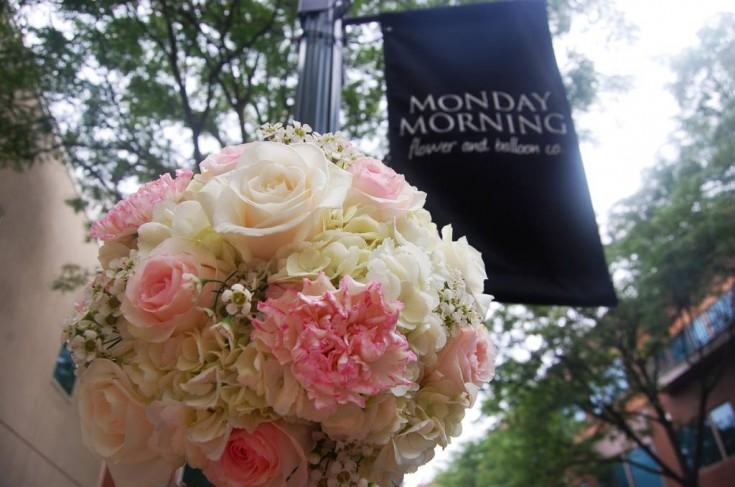 Romantic Pink Bouquet - Monday Flowers