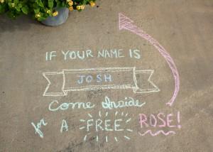 Sidewalk Name Game