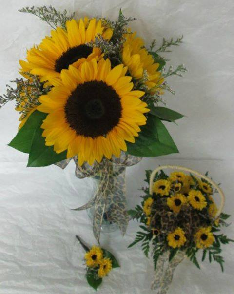 Sunflower bouquet from Inspirations Floral Studio in Lock Haven, PA