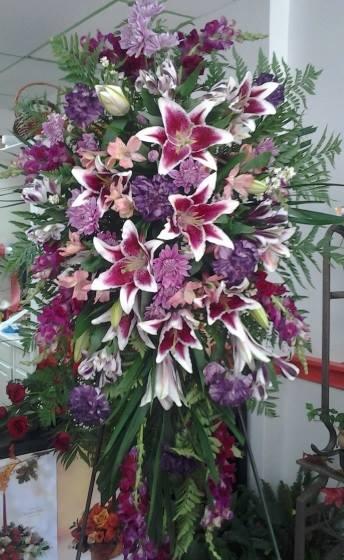 A gorgeous arrangement by Designs by Sandra in Kearny, NJ