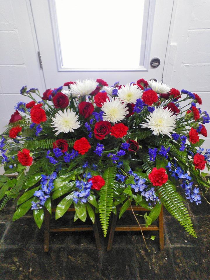 Arrangement by Wilma's Flowers in Jasper, AL