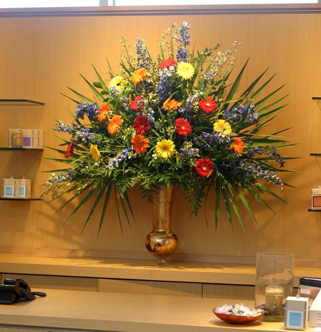 Arrangement for a fund-raiser from Blumen Garten Florists in Columbus, OH