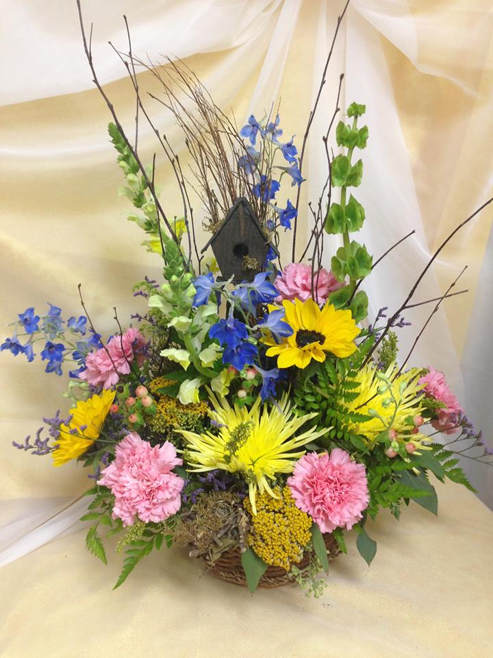 Beautiful arrangement from Michele's Floral and Gifts in Copperas Cove, TX