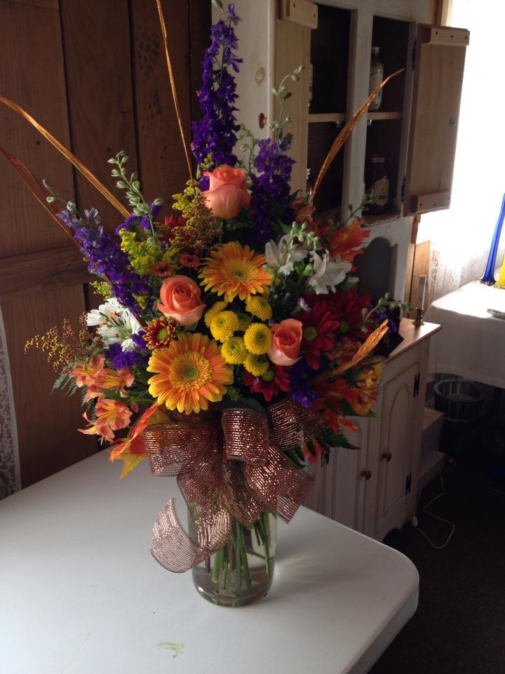 Beautiful arrangement from The Wild Flower in Arnoldsburg, WV