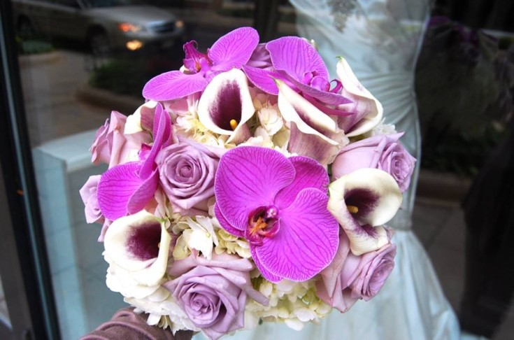Brilliant bouquet by Monday Morning Flower and Balloon Co. in Princeton, NJ