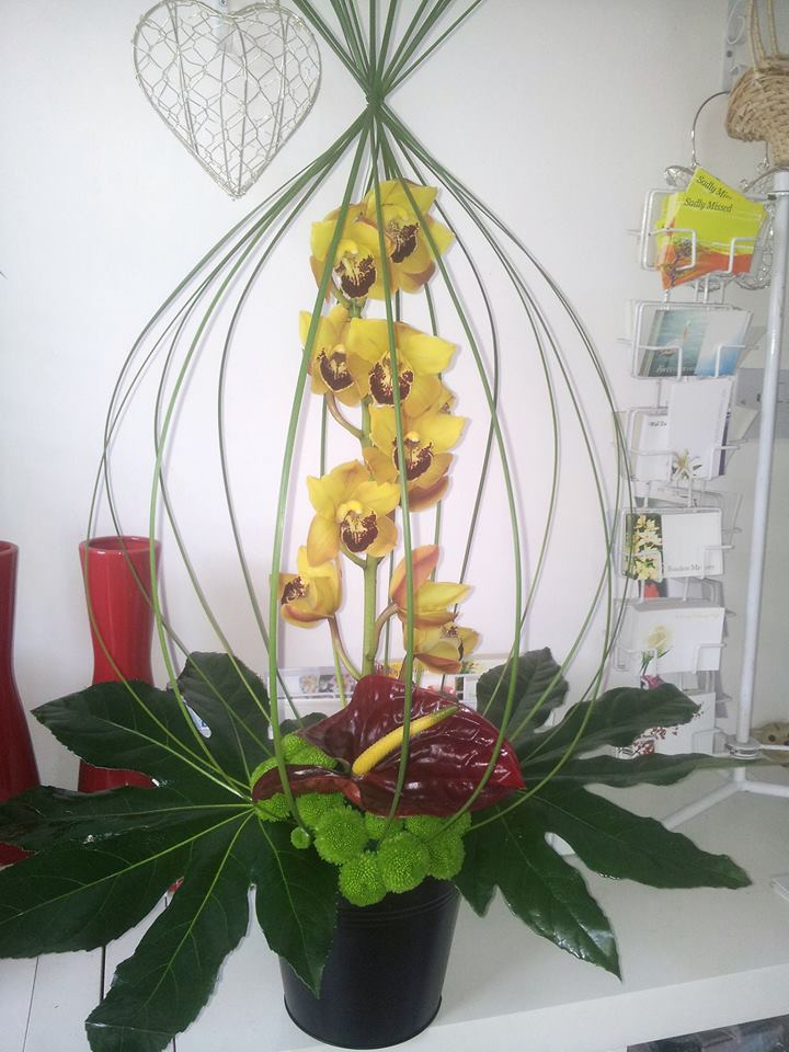 Gorgeous arrangement from The Flower Vase in Brighouse, UK