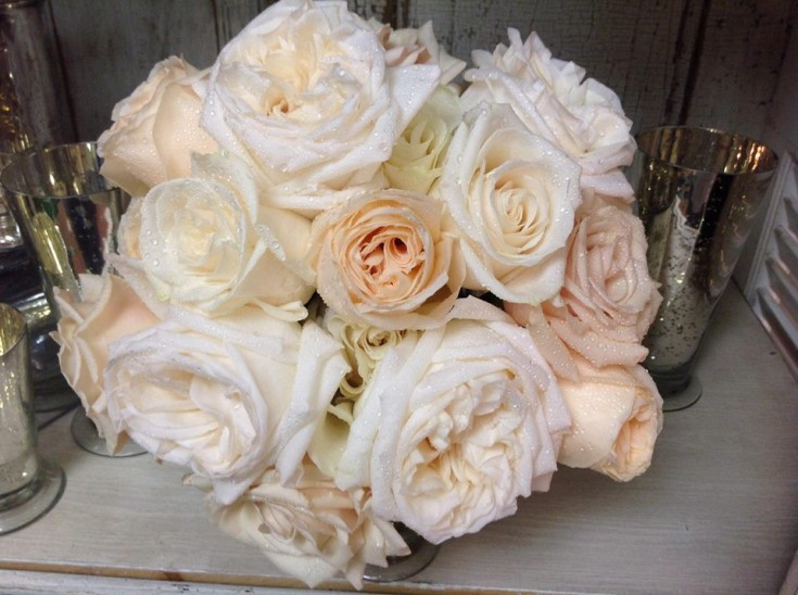 Gorgeous bridal bouquet from Lulu McCabe Florist & Events in St. Louis, MO