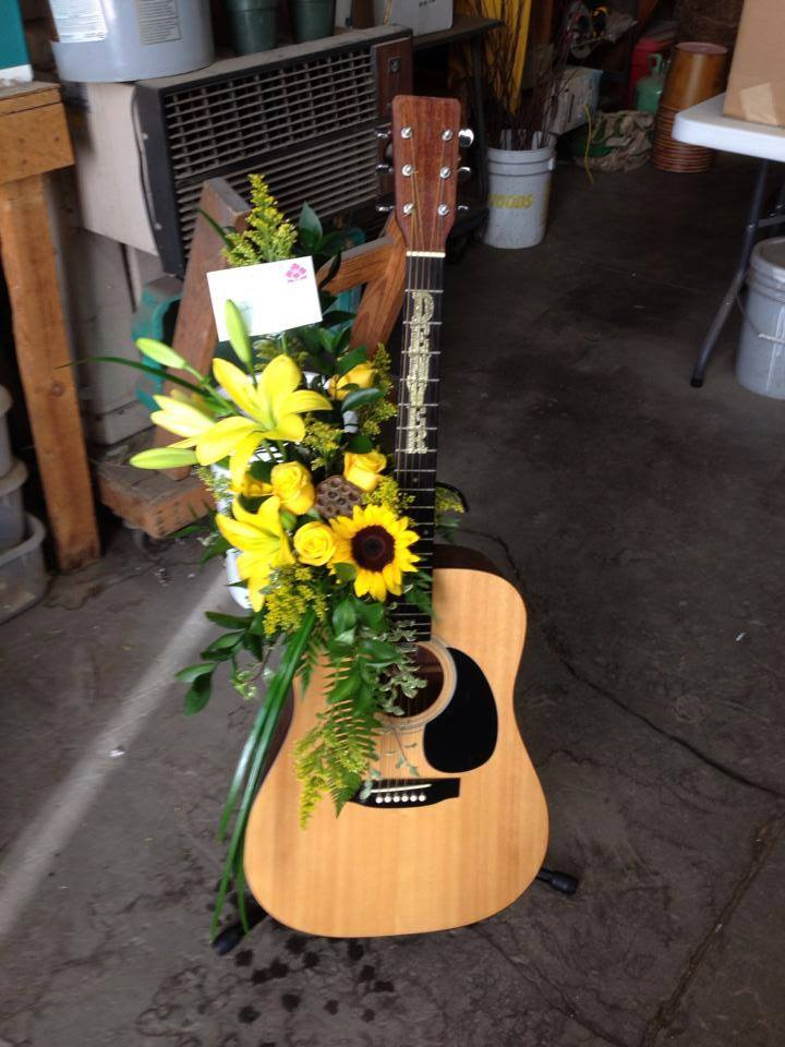 Memorial tribute by Kay Schlaefli AMF, PFC, of Expressions Flowers, LLC in Fort Smith, AR
