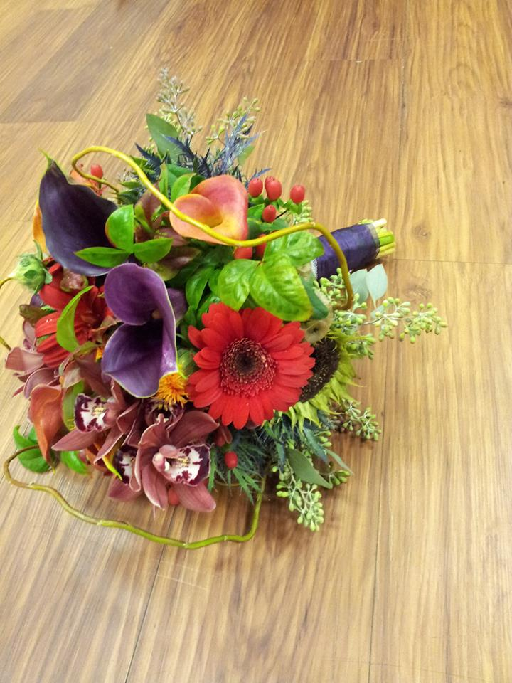 Vibrant bouquet from Forget-Me-Not Flower and Gifts in Chandler, TX