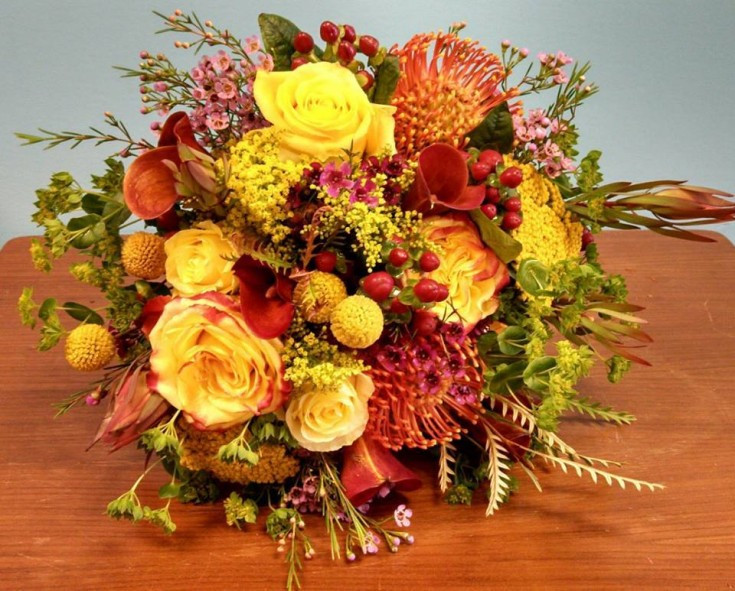 Wedding Bouquet from Deep Roots Floral and Wedding Design in Grovetown, GA
