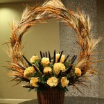 Amazing arrangement from Tom Kenisdon AIFD of Crossroads Florist in Mahwah, NJ