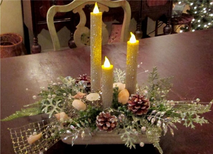 An excellent centerpiece from Inspirations Floral Studio in Lock Haven, PA