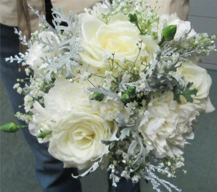 Beautiful hand-held from Inspirations Floral Studio in Lock Haven, PA