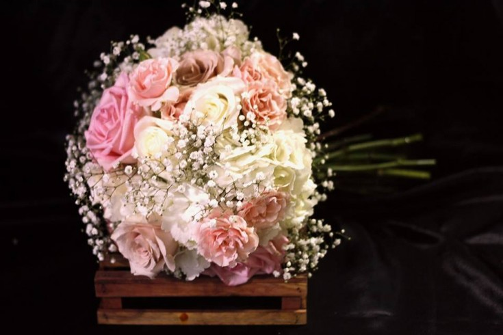 Beautiful wedding bouquet from Bouquets and Bows in Van, TX
